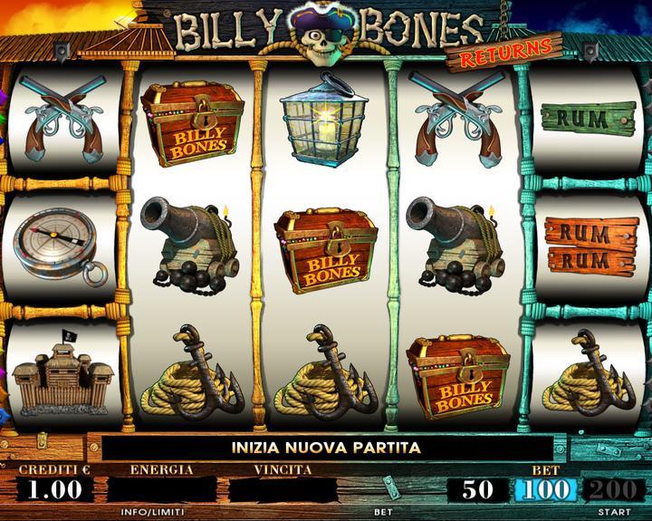 BILLY BONES RETURN 1