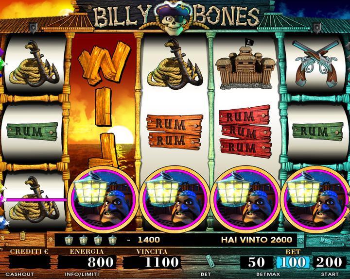 BILLY BONES RETURN 2