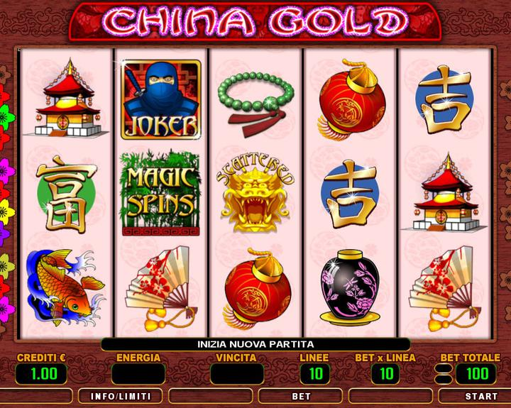 CHINA GOLD 1