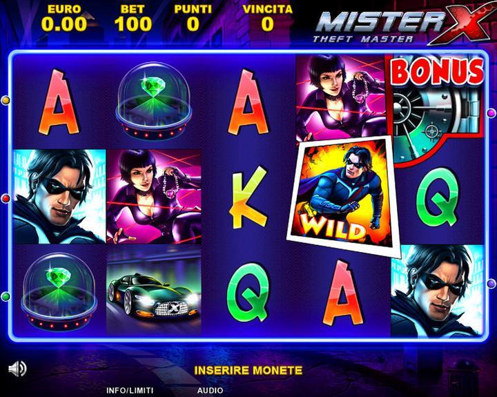 Mister X - 01
