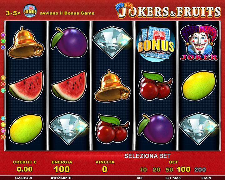 Joker & Fruits - 01