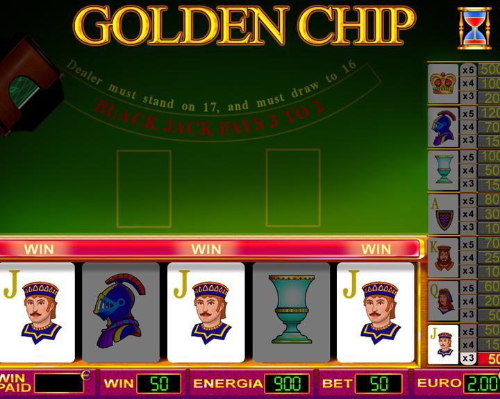GOLDEN CHIP 2