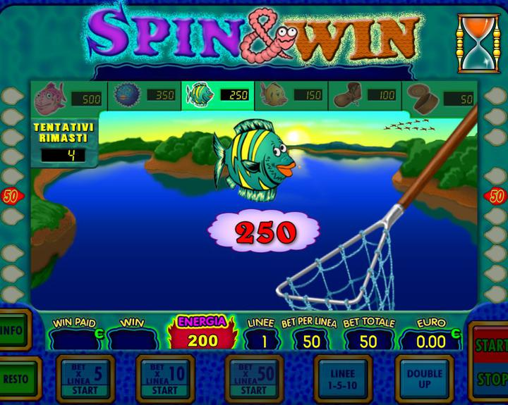 SPIN & WIN 4