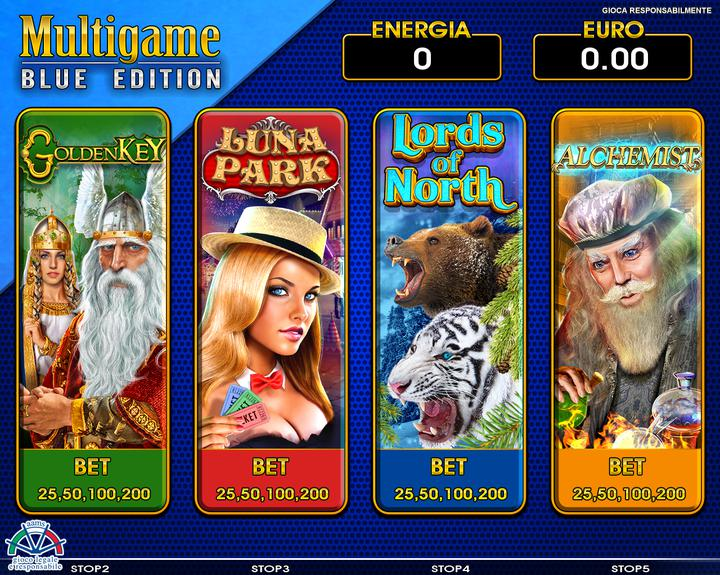Multigame Blue Edition 7
