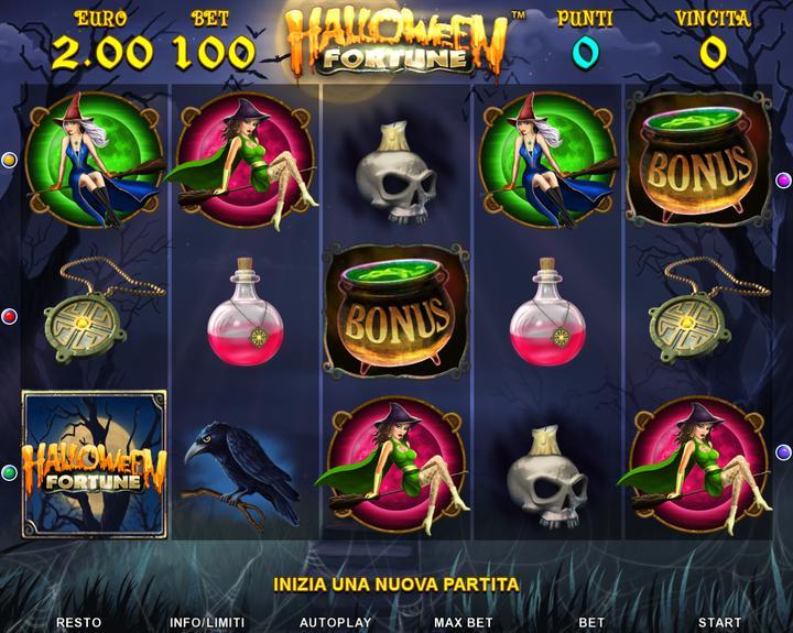 Halloween Fortune - 01