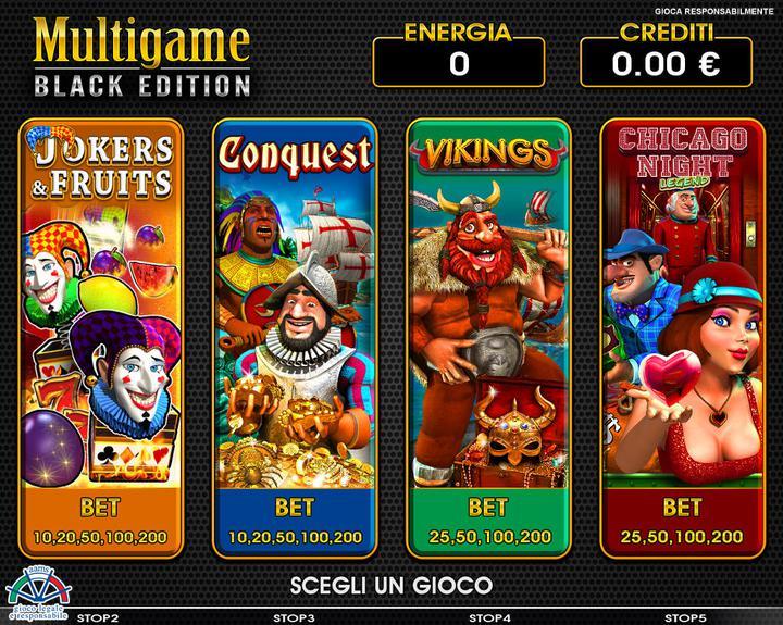 Multigame Black - 01