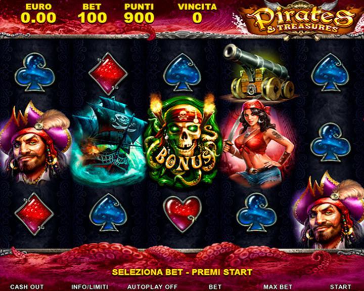 Pirates & Treasures - 01