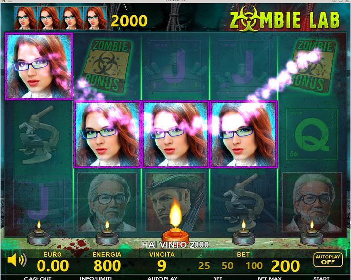 Zombie Lab - 01